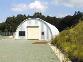 農機具倉庫 ドーム型 施設 建築 設計 倉庫 畜舎 工場 宝和工務